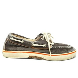 Sperry HALYARD Boat Shoes Size 1 Youth